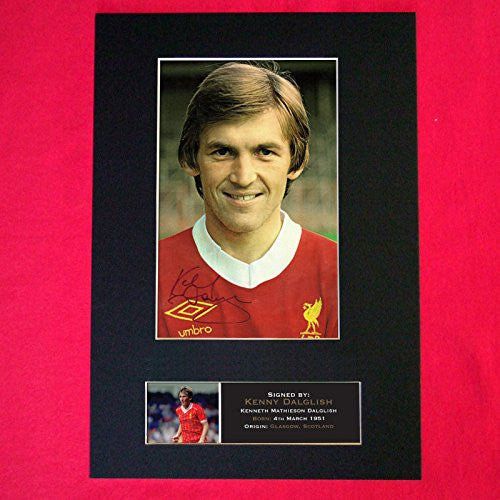 Liverpool Kenny Dalglish Photo (PRINT) A4 210 x 297mm