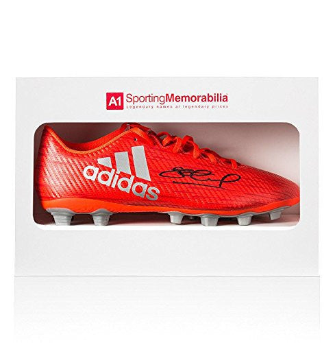 Steven Gerrard Signed Boot Adidas X 16.4 Solar Red - Autographed