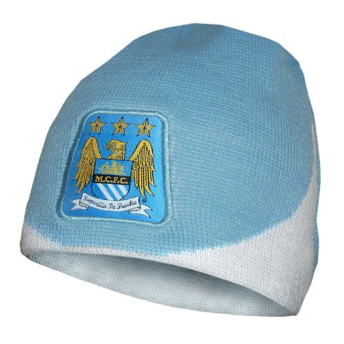 Manchester City Wave Knitted Beanie