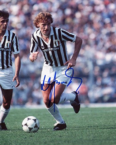 JUVENTUS Zbigniew Boniek autograph, In-Person signed photo
