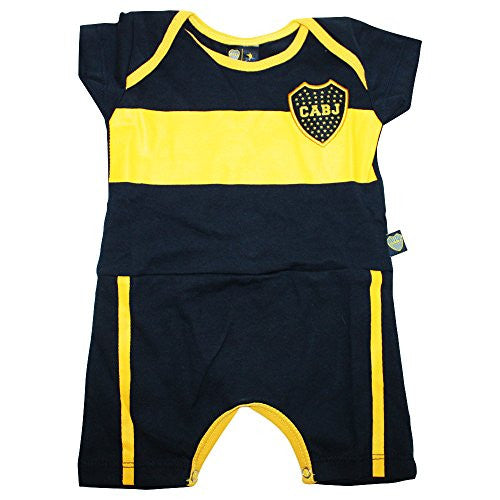 Boca Juniors Futbol Football Soccer Baby Body (Boca Jersey) (12-18 Month)