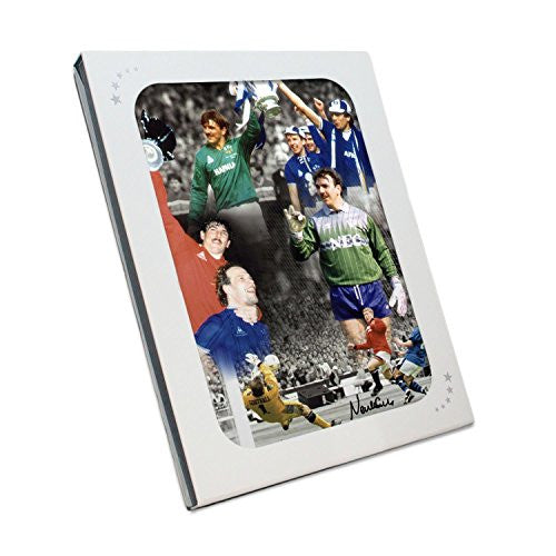Neville Southall Signed Everton Photo. In Gift Box