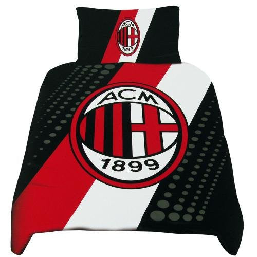 AC Milan Single Bed Duvet Set
