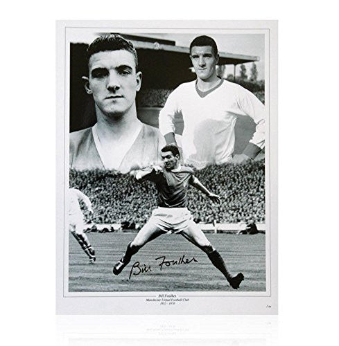 Bill Foulkes Photo - Busby Babe Autographed Photos
