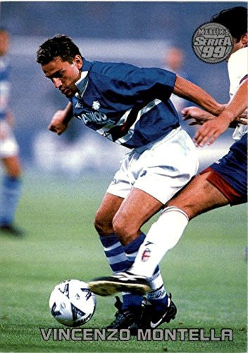 1998-99 Merlin Serie A #61 Vincenzo Montella - NM-MT