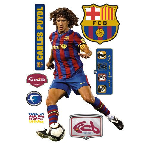 Barcelona Carles Puyol Wall Graphic