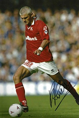 Fabrizio Ravanelli Autographed, In-Person signed photo