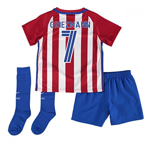 Atletico Madrid Home Baby Kit (Griezmann 7) 2016-17
