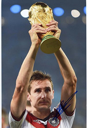 Miroslav Klose autographed, IP signed photo