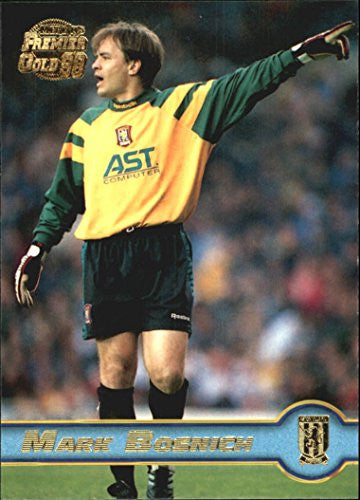 1997-98 Merlin Premier Gold England #10 Mark Bosnich - NM-MT