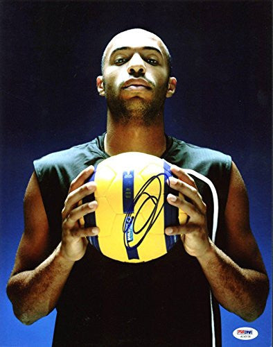 Thierry Henry Signed  Photo - 11X14 - Certified