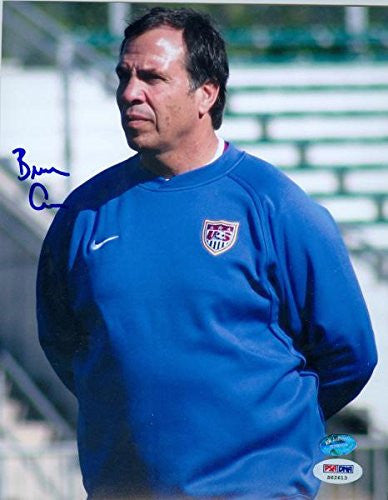 Bruce Arenas autographed 8x10 Photo (United States Men's Soccer Coach)- PSA #S62613 - Autographed Soccer Photos