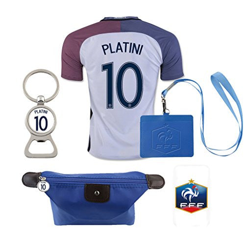 #10 Platini (6 in 1 Combo) France Home Jersey