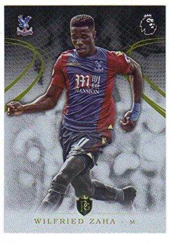 2016-17 Topps Premier Gold EPL Soccer #37 Wilfried Zaha Crystal Palace