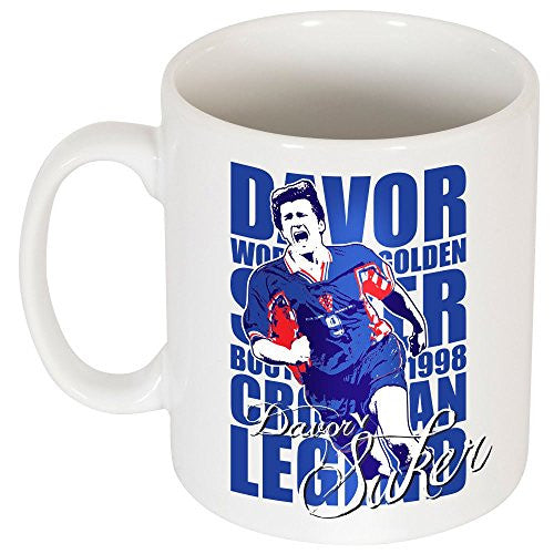 Davor Suker Legend Mug - One Size