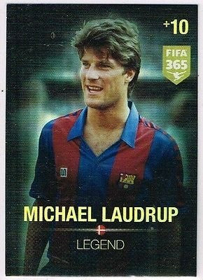 Panini Adrenalyn XL FIFA 365 Michael Laudrup Legend Card by FIFA 365
