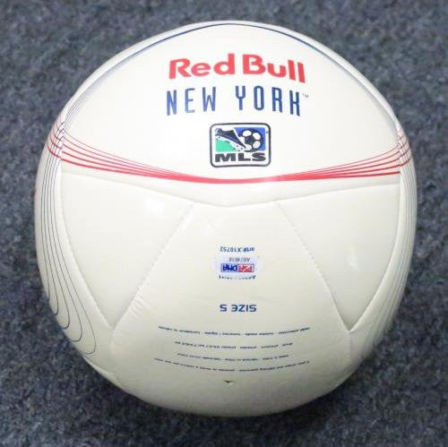 Thierry Henry Signed New York Red Bulls Ball