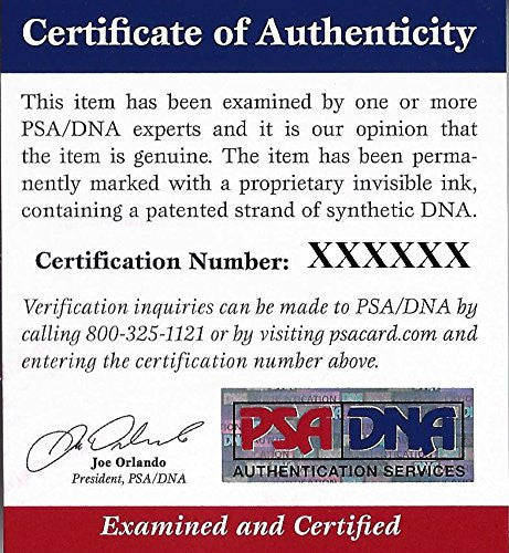 Claudio Reyna Signed 8x10 Photograph - PSA/DNA Authentication - Sports Memorabilia