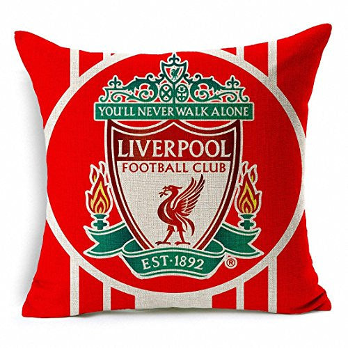 Liverpool Throw Pillow