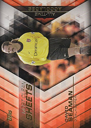 David Seaman - Topps English Premier League Card