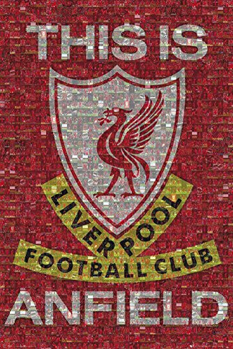 Liverpool FC 'This Is Anfield' Mosaic