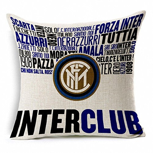Inter Milan Throw Pillow