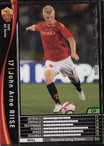 WCCF 09-10 / AS Roma / Black / 232 / John Arne Riise