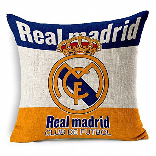Real Madrid Throw Pillow