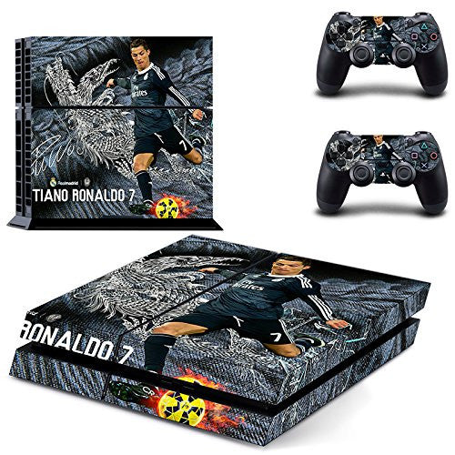 Real Madrid Cristiano Ronaldo PS4 Sticker Sony PlayStation 4 System