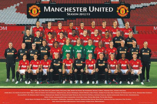 Manchester United Team Photo 2012/2013