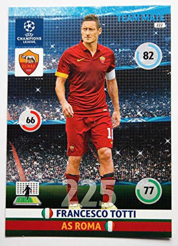PANINI ADRENALYN 14/15 UEFA Champions League Card > Francesco Totti
