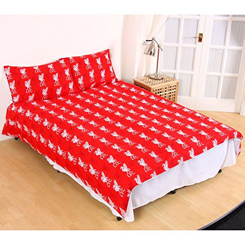 Liverpool FC Fade Double Full Duvet Cover and Pillowcase Set