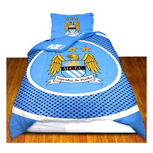 Manchester City FC Reversible Duvet Cover
