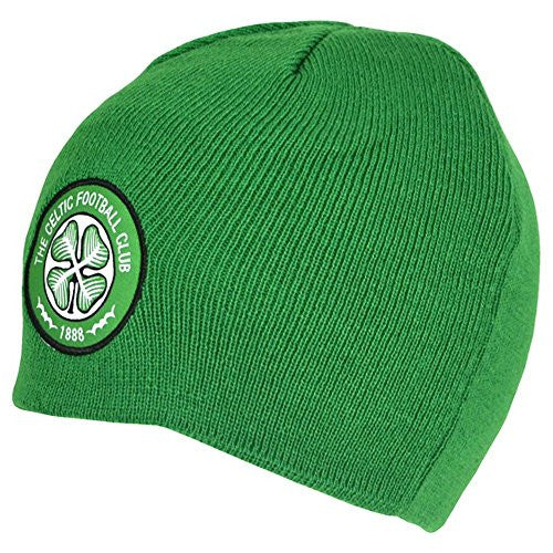 Celtic FC Official Soccer/Football Crest Basic Winter Beanie Hat