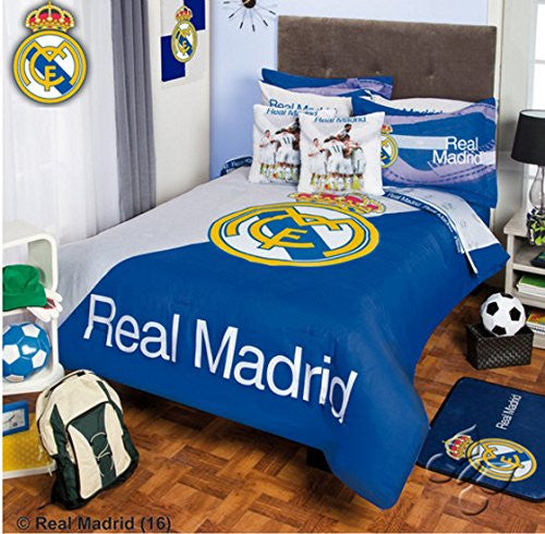 Real Madrid Set 7 Piece Comforter