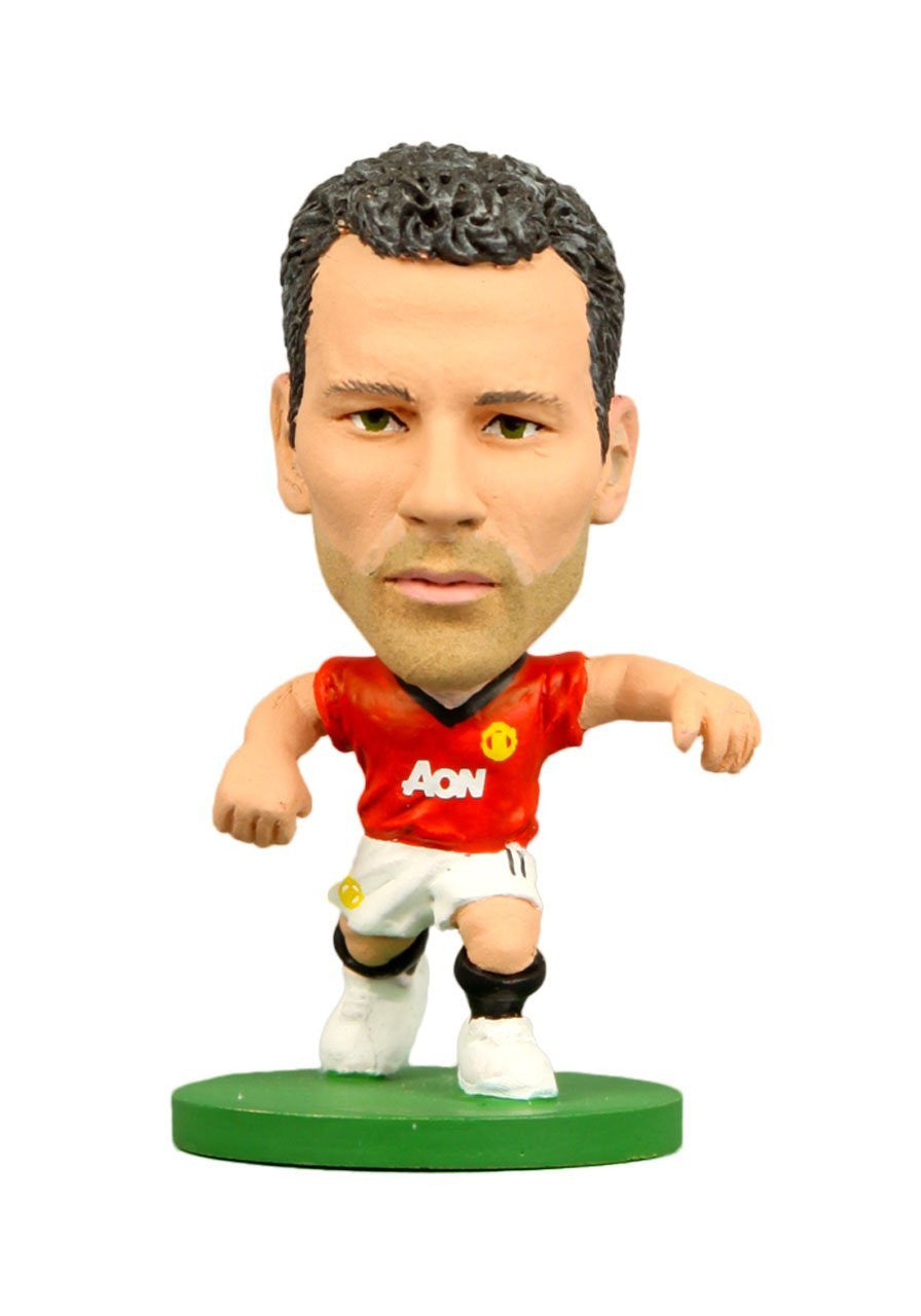 Man Utd Ryan Giggs Home Kit Football Figure