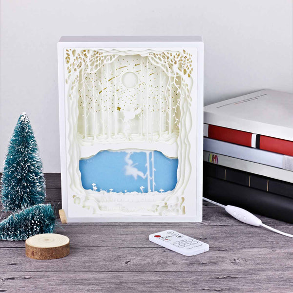 Papercut Light Boxes - Fairy