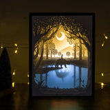 Papercut Light Boxes - My Friend