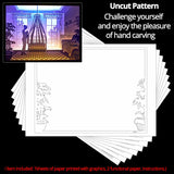 Share to Get 50% OFF ! Best Diy Project and Discount for Stay-at-home - Printed Pattern Template Files of Papercut Light Boxes,933,Newborn