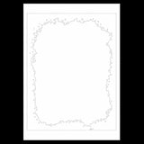 Uncut Printed Pattern for DIY Papercut Light Boxes-963