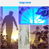 Share to Get 50% OFF ! Best Diy Project and Discount for Stay-at-home - Printed Pattern Template Files of Papercut Light Boxes,963,My father