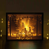Papercut Light Boxes - Our childhood
