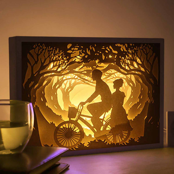 Papercut Light Boxes - The moment