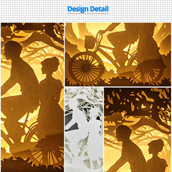 Share to Get 50% OFF ! Best Diy Project and Discount for Stay-at-home - Printed Pattern Template Files of Papercut Light Boxes,976,The moment