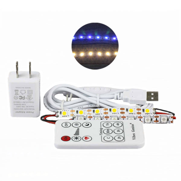 Double Color LED Lamp Set - Touch and Remote Control