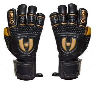 Paragon Goalkeeper Gloves - Golden - Negative Cut