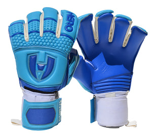 Paragon Goalkeeper Gloves - Surf - Hybrid Cut
