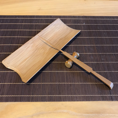 TA-Bamboo Tea Scoop Set