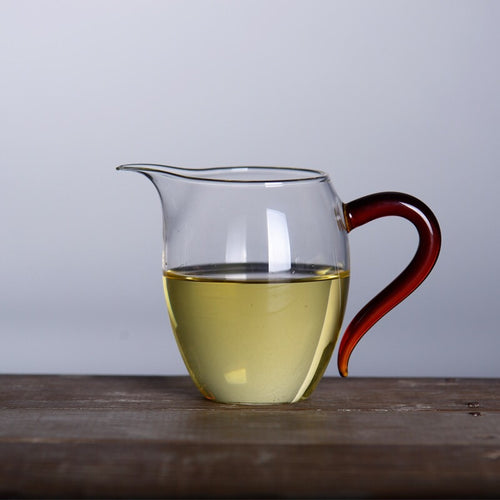 TA-Glass Tea Pitcher (Amber)