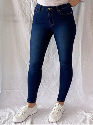 Mila Jeans by Saint Rose : Dark Denim
